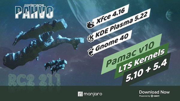 Manjaro 2021-07-23 lançado com Nvidia 470.57.02, Pipewire 0.3.32 e mais