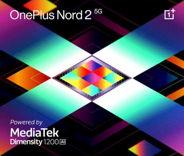 OnePlus Nord 2 5G foi anunciado oficialmente com um chip MediaTek