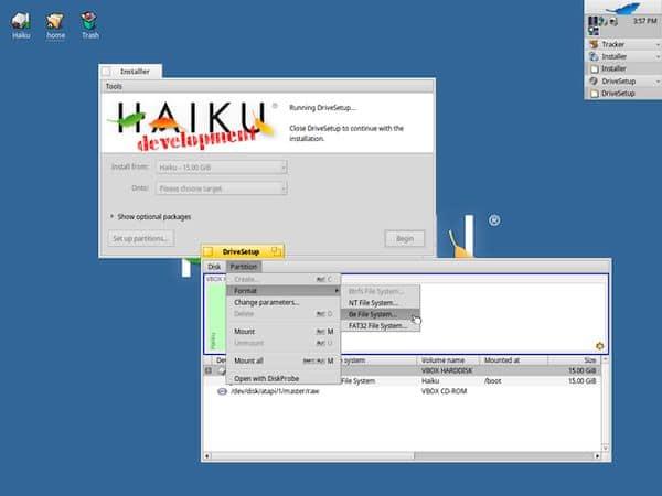 Projeto Haiku já está se preparando para o lançamento do Haiku R1 Beta3