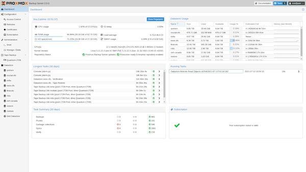 Proxmox Backup Server 2 lançado com base no Debian 11
