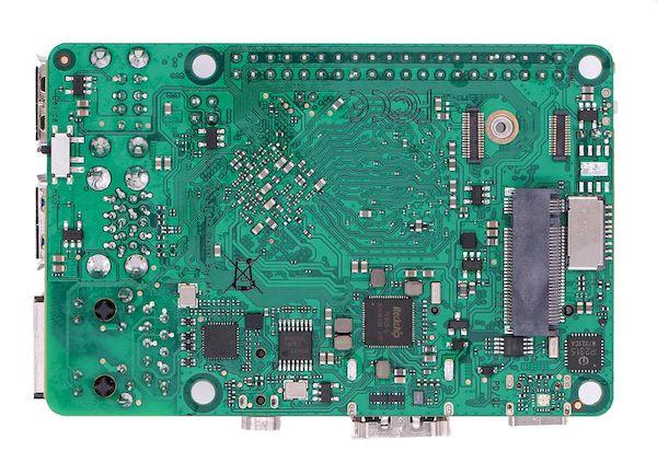 Radxa ROCK 3A, um PC do tamanho de Raspberry Pi com um slot M.2 para NVMe SSD