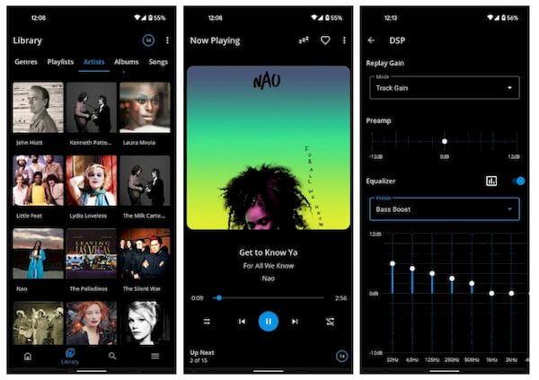 S2 Music Player, um aplicativo Android do criador do Shuttle
