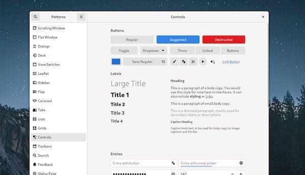 Tema padrão do GNOME está sendo reformulado