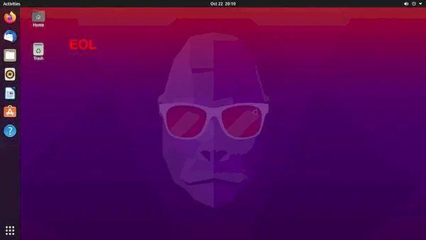 Ubuntu 20.10 chegou ao fim da vida útil, atualize para o Ubuntu 21.04 agora
