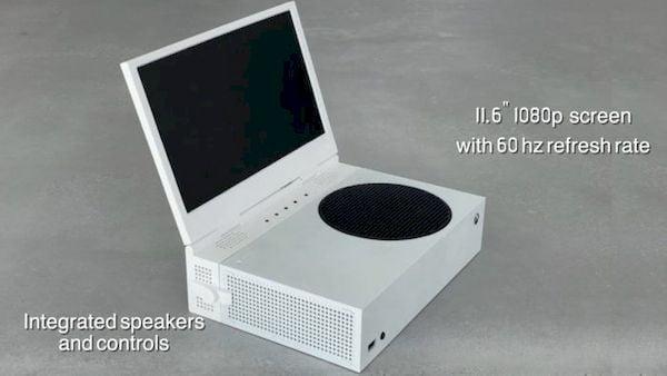 Visor portátil xScreen transforma o xBox Series S em um laptop para jogos (sem a bateria)