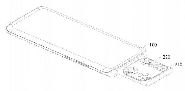 Vivo patenteou um smartphone que usa um drone voador como câmera