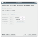Night Light no KDE Plasma - em breve recurso será nativo